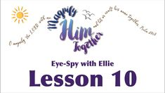 Learn about Elisha through a video of Eye Spy! School Videos, Sunday School, Spy, Let It Be, Eyes, Learning, Studying, Teaching, Cat Eyes