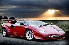 Lamborghini Countach - Still a head turner!