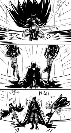 Stop that, you two, or Brucie will get really angry! lol Batman Meme, Batman Y Superman, Batman Robin, Batman Arkham, Batman Art, Nightwing, Batgirl, Batman Universe, Dc Universe
