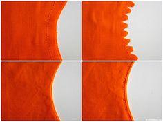 Einschneiden von Nahtzugaben Rundungen Kreise Ecken naehen modage 8