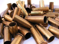 Bullet Casings Small Brass Rifle Shells Empty Mixed by Supplize, $10.00