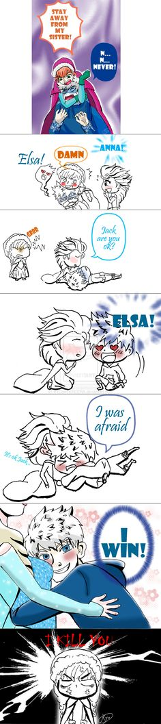 Revenge of Jack Frost by KYOooTERCERA.deviantart.com on @DeviantArt LOL