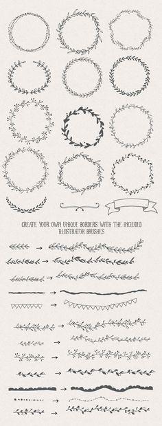 Handsketched Designer's Branding Kit