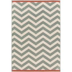 Thos. Baker Alfresco Chevron Rug (Moss) ($223) ❤ liked on Polyvore featuring home, rugs, chevron outdoor rug, chevron rugs, zig zag rug, outdoor rugs and outdoors rugs