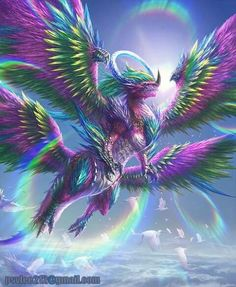 You too can be an artist when you paint with Diamonds! Every kit gives you a chance to create a work of art you can be proud of. This diamond painting kit Magical Creatures, Fantasy Creatures, Beautiful Creatures, Fantasy World, Fantasy Art, Feathered Dragon, Dragon Artwork, Dragon Pictures, Fantasy Monster