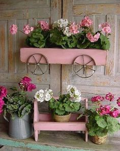 How to use Fusion Mineral Paint from Prep to Finish - Raggedy Bits Diy Planters, Planter Boxes, Garden Planters, Balcony Plants, Planter Ideas, Garden Crafts, Garden Projects, Garden Art, Diy Projects