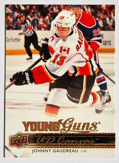 2014-15 UPPER DECK SERIES 1 CANVAS YOUNG GUNS ROOKIE - JOHNNY GAUDREAU