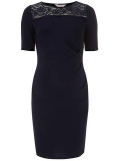Maternity Navy lace bodycon dress - View All Dresses- Dorothy Perkins United States Maternity Fashion, Maternity Dresses, Navy Lace, Bodycon Dress, Stylish, How To Wear, Clothes, Shopping, Fashion Online