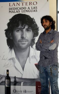 Campaña de publicidad para vino tinto Lantero, con el cantaor flamenco Arcangel.