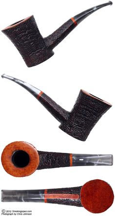 A very nice Bent Poker from Castello.