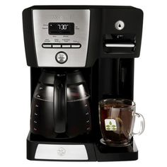 Mr. Coffee 12 Cup Programmable Coffeemaker with Hot Shot Water Station