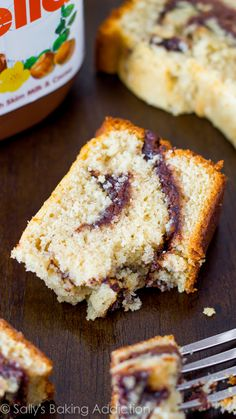 There is NEVER any of this pound cake leftover!