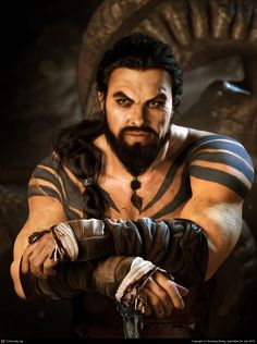 Drogo 3d model and realistic render, by Baolong Zhang  #Gameofthrones