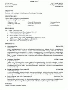 Printable Resume Samples Resume Templates College Template Sample  Example Of A Student Resume