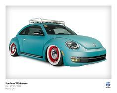 Southern Worthersee 2013 | VW Director | OK, I'm actually in love with this New Beetle.
