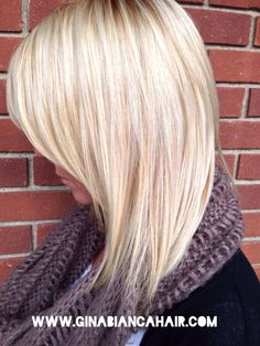 Pretty blonde hair for fall. Highlights, blonde, Paul Mitchell , hair color ideas, fall 2013 trends, scarves