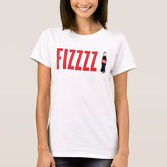 Coca-Cola | Fizzzz T-Shirt - click/tap to personalize and buy