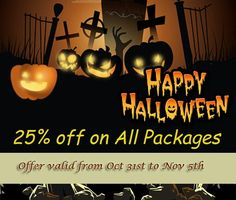 Halloween Offer: 25% off on all Packages FREE Project Consultation Service: Save up to $500 WE are offering a discount for Halloween on all website development services for new clients. Take advantage before 5th November. This offer is especially for the ones scared to invest in their professional online presence. We are here to help. Contact us at: sales@wordsuccor.com or http://www.wordsuccor.com/