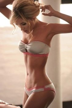 My ultimate dream goal.... alas, there is no way I will ever get my stomach to look like that.  :(
