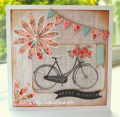 Kath's Blog......diary of the everyday life of a crafter: Bicycle...bicycle...I want to ride my bicycle...