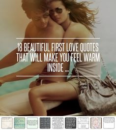 18 #Beautiful First #Love #Quotes That Will Make You Feel Warm inside ... → Love [ more at http://love.allwomenstalk.com ]  #Kisses #Girl #Sweet #Quote #Time