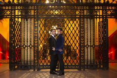 Lance Bass & Michael Turchin from Celebrity Weddings  The former 'N Sync singer and his longtime partner wed on Dec. 20, 2014.