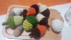 ドングリ編んでみました
