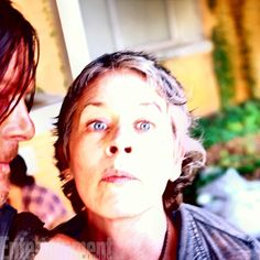 Norman with Melissa McBride Image Credit: Courtesy of Norman Reedus