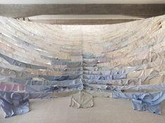 Installation for 'Are We Still Going On' by Finnish environmental artist Kaarina Kaikkonen    http://abigaildoan.blogspot.co.uk/