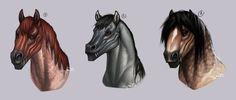 hybrid heads. by Notesz.deviantart.com on @DeviantArt