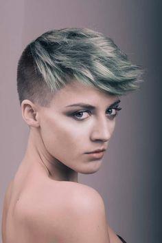 www.estetica.it | Hair: Kym Wyser / Photo: Matt Brown / Makeup: Shaun Lavender / Assistants: Lucy Quinn & Molly McBride