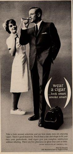 VintageCigarette Ad..doctors and nurses promoting smoking..