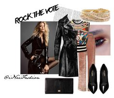 """""""Untitled #874"""" by inaifashion on Polyvore featuring Alberta Ferretti, Givenchy, Michael Kors, Dolce&Gabbana, Yves Saint Laurent, Torrid, contest, contestentry, fashionset and rockthevote"""