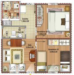 Casa 40m2