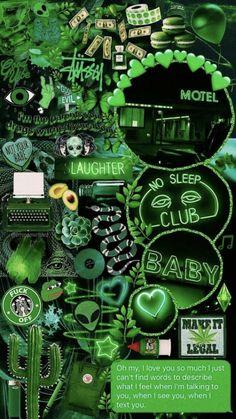 IPhone Hintergrundbild von Aesthetic – Green collage🍃💚🍏 – – Iphone Wallpaper from Aesthetic – Green collage🍃💚🍏 … Iphone Wallpaper Green, Neon Wallpaper, Aesthetic Pastel Wallpaper, Aesthetic Backgrounds, Tumblr Wallpaper, Aesthetic Wallpapers, Wallpaper Samsung, Aesthetic Colors, Aesthetic Collage