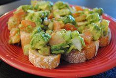 Bruschettas on Pinterest   Bruschetta, Tomatoes and Avocado