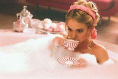 Tea and a bath...