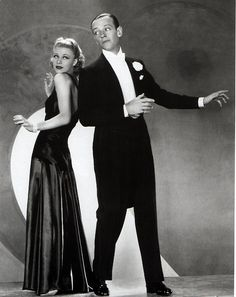 Ginger Rogers and Fred Astaire, 1935