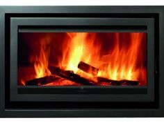 Eurostove-Christon-900---4-Sided-Frame Sleek inset Woodburner from Eurostove - Mendip Stoves