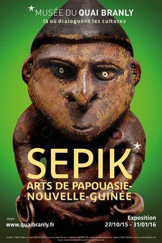 X  ----------  Expo Sepik - Musée du Quai Branly /// 27/10/2015 au 31/01/2016