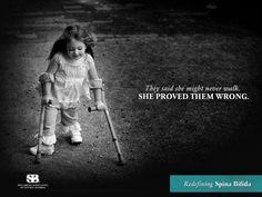 2011 Spina Bifida Awareness Campaign by Amanda Kern & the Spina Bifida Association of Central Florida #spinabifida