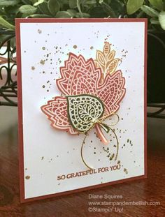 Join me for the OSAT September Blog Hop - Designer's Choice.  I used the Lighthearted Leaves Stamp Set and great glue and glitter splatter techinque- http://stampandembellish.com/2015/09/osat-blog-hop-designers-choice/