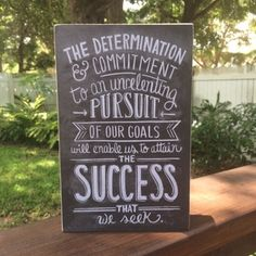 The Determination and commitment to an unrelenting pursuit of our goals will enable us to attain the success that we seek. #cultivategratitude #gratitude