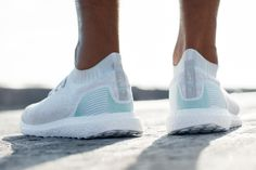 adidas & Parley for the Oceans Debut an Ultra Boost Uncaged & Apparel Made With Recycled Marine Plastic.