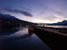 Sunrise in Fáskrúðsfjörður