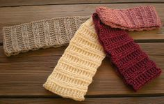 Free pattern - knitted earwarmer - frostbeat (3) all 4 right side out by yvonnevt, via Flickr