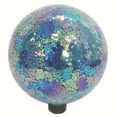 VCS Mosaic Globes 10in Turquoise, Blue & Purple Mosaic Globe