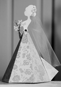Kathy Helton went out of the box using the teepee as the bottom of the wedding dress!  How creative is this!  It is stunning!!!