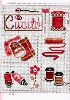 1000 images about couture broderie point de croix cross stitch on pinterest cross stitch. Black Bedroom Furniture Sets. Home Design Ideas