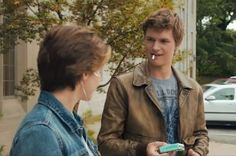 """Watch Hazel And Augustus' First Moment Together From """"The Fault In Our Stars"""""""